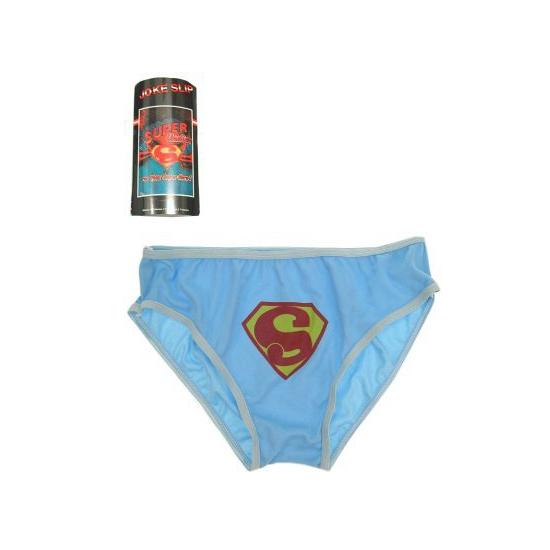 fdc526eb015274 Superman blauwe onderbroek als cadeau versturen - Knuffelcadeau.nl